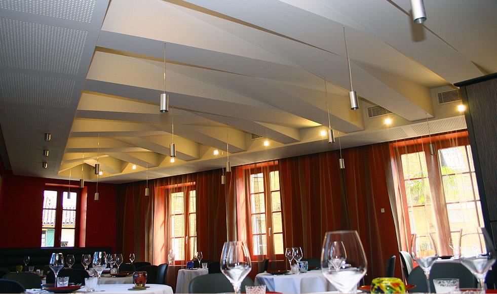 Realisations mb d coration peinture arbois jura for Decoration platre salon